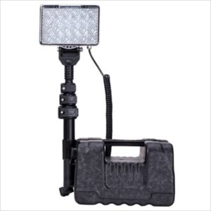 Tour led eclairage chantier 72w rechageable