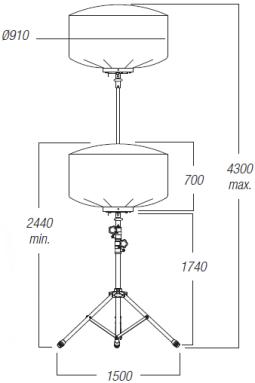 Dimensions-ballon-eclairant-500w