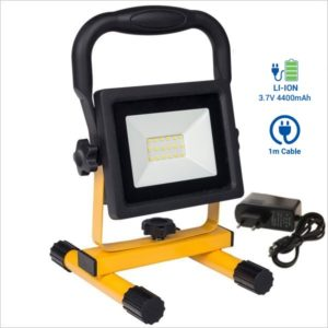 Projecteur-chantier-rechargeable-transportable-20w-led-batterie-lithium-4400-mAh